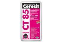 Ceresit CT 85 клей для приклеивания и армирования пенопласта, 25 кг