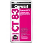 Ceresit CT-83 клей для приклеювання пінопласту, 25 кг