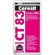 Ceresit CT-83 клей для приклеивания пенопласта, 25кг