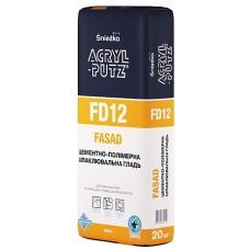 SNEZKA Acril-Putz FD12 Фасад, шпаклевка цементно-полимерная, 20 кг