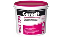 Ceresit СТ-174 Камешковая, декоративная, силикон-силикатная штукатурка (1,5мм), 25кг
