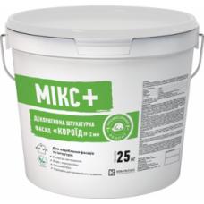 Siltek Mikc + Фасад Короїд, Готова декоративна штукатурка (2.0 мм), 25кг