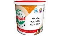 Ансерглоб Акрилова, універсальна фасадна акрилова фарба, 14 кг