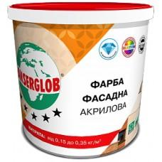Ансерглоб Акриловая, универсальная фасадная краска,14 кг