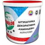 Ансерглоб Акрилова Камінцева, біла штукатурка декоративна, 25кг