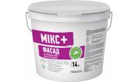 Siltek Микс+Фасад, атмосферостойкая, латексная краска, 14 кг