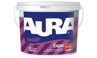 Aura Fasad Expo, матовая акриловая краска, 10 л