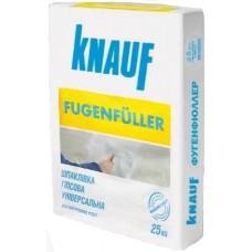 Шпаклевка гипсовая для швов ГКЛ Knauf Fugenfuller (1-5 мм), 25 кг