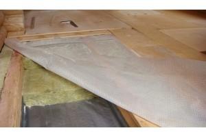 Как утеплить деревянное перекрытие