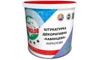Ансерглоб Акриловая Камешковая, белая штукатурка декоративная, 25 кг