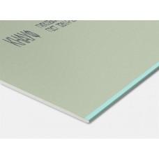 Гипсокартон Knauf влагостойкий, толщ. 12,5 мм/2 м